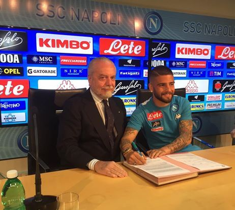 Insigne in conferenza stampa:
