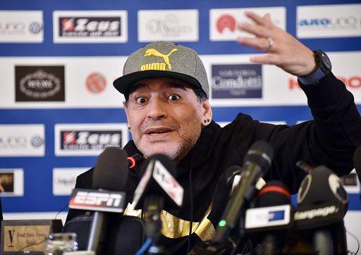 Maradona e la sua