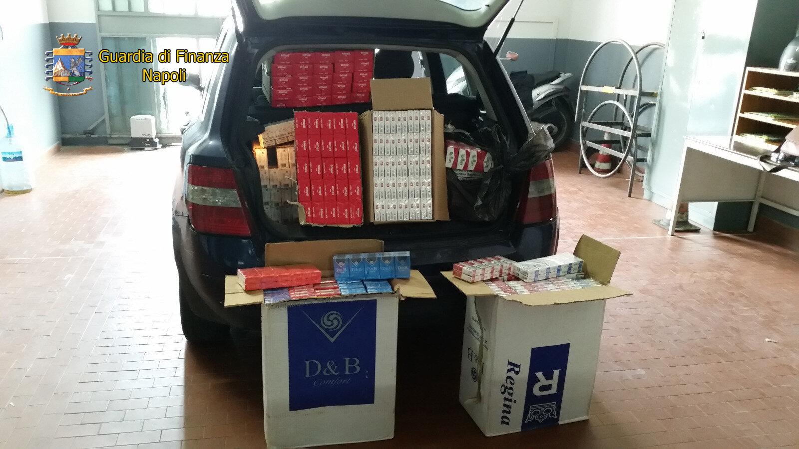 La Guardia di Finanza stronca il contrabbando di sigarette nel nolano