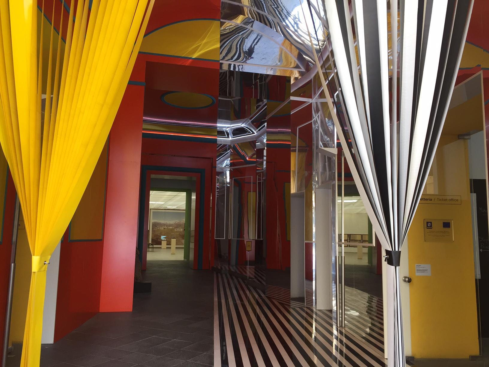Museo Madre, Napoli. Riapre le porte il Museo Madre e le primi visitatrici sono francesi
