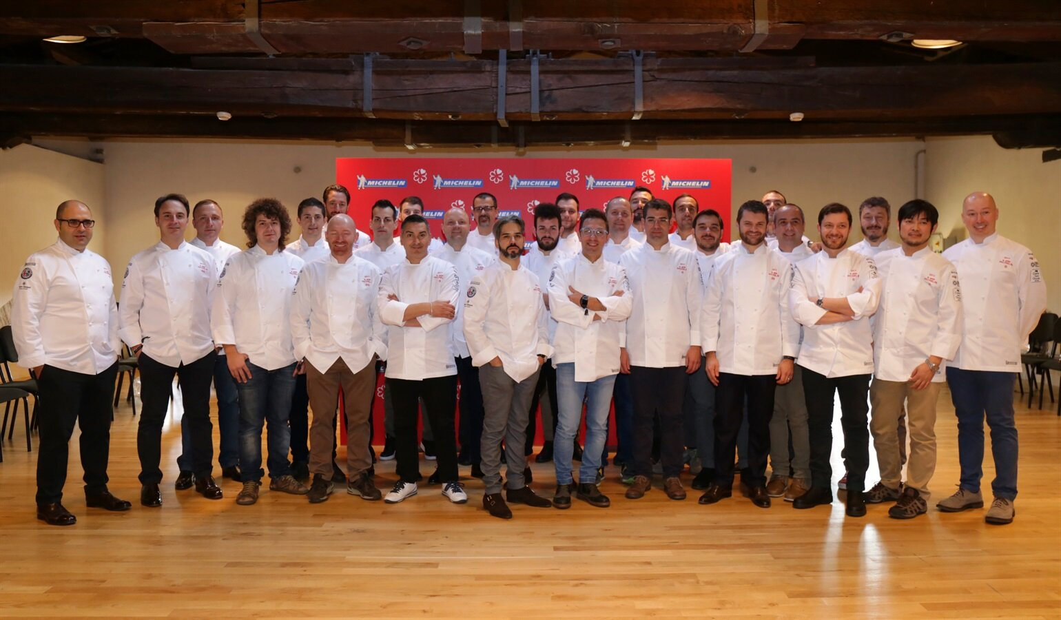 Michelin, Hubertus sale, Cracco scende