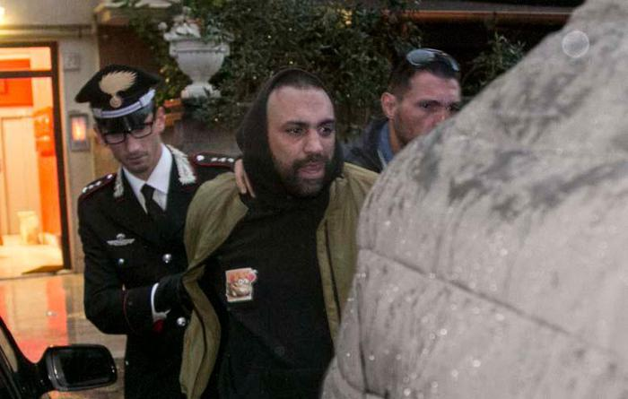 Arrestato Roberto Spada: per la Dda c'è l'aggravante del metodo mafioso