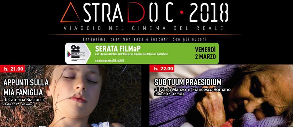 astradoc, Per AstraDoc – VIaggio nel cinema del reale, i nuovi documentari FILMaP