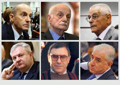 Stato-mafia: condannati ex capi Ros, dell'Utri ei boss