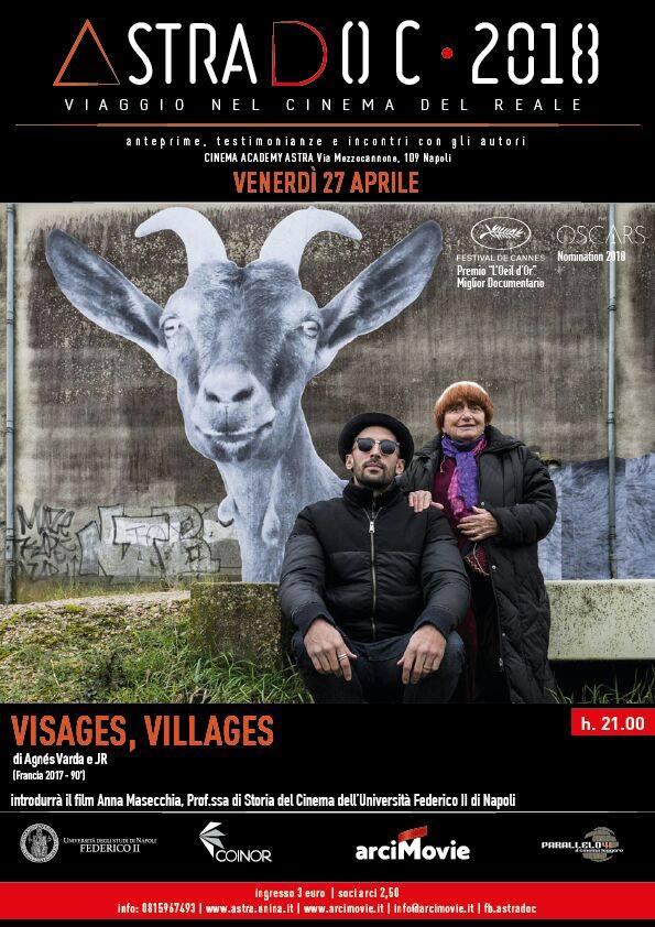 Astradoc, Astradoc Viaggio nel cinema del reale: 'Visage, Villlages' di Agnes Varda, premio Oscar alla carriera
