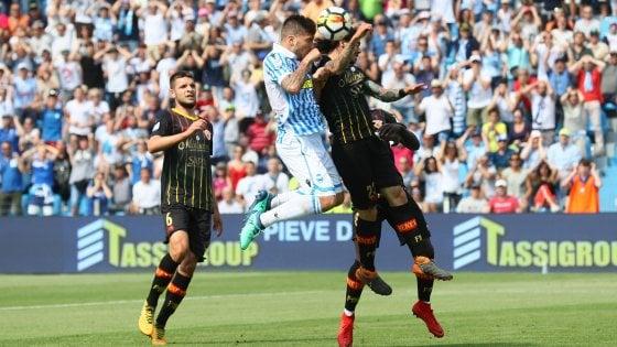 Calcio Serie A: contro la Spal un Benevento con tredici assenti Sport