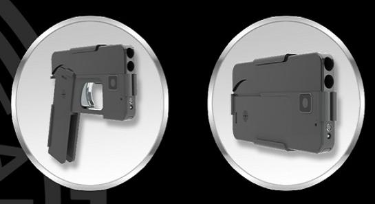 Negli Usa arriva la pistola a forma di smartphone sponsorizzata dalla Nra