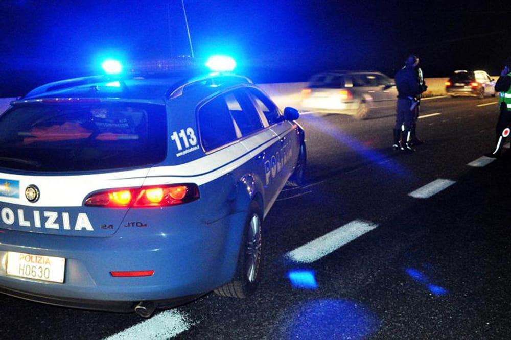 polizia stradale notte 2
