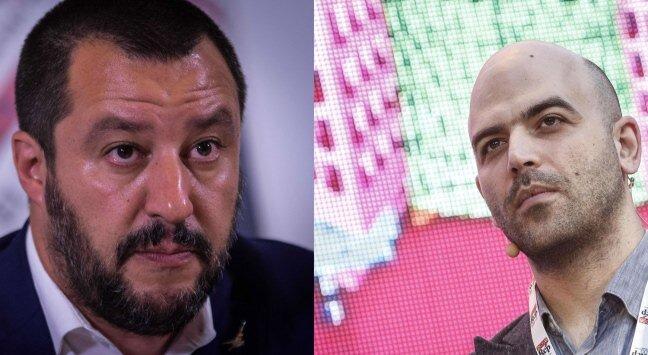 Saviano: Feci testamento a 26 anni. Salvini? Non urlo a scampato ...