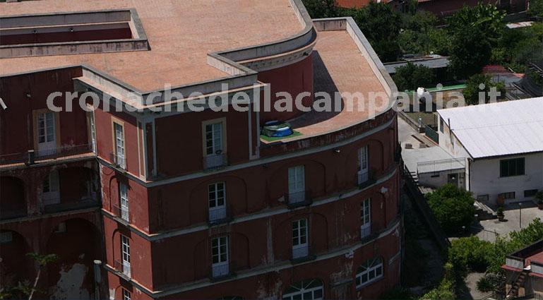 Castellammare, rimossa la piscina abusiva sul terrazzo della Reggia ...