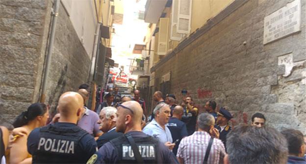 esplosione quartieri spagnoli