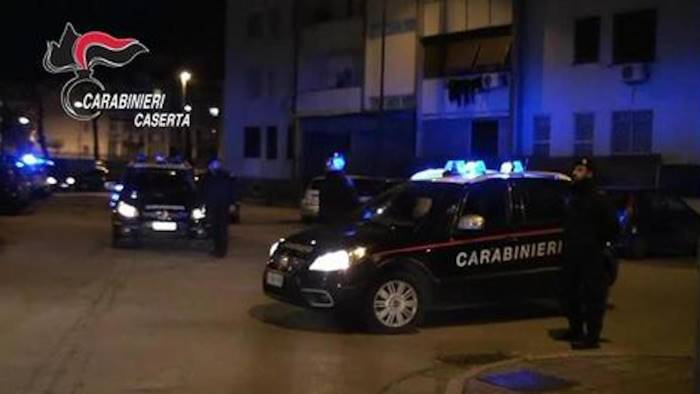 Caivano,cocaina,caserta,pusher arrestati