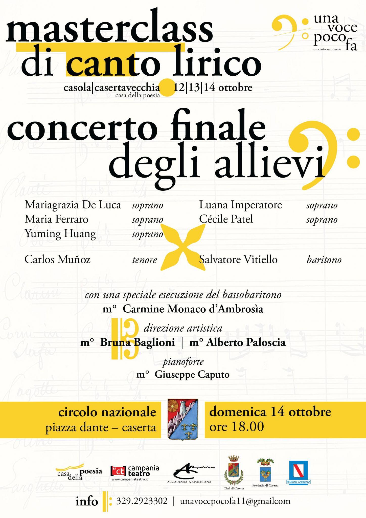 concerto locandina