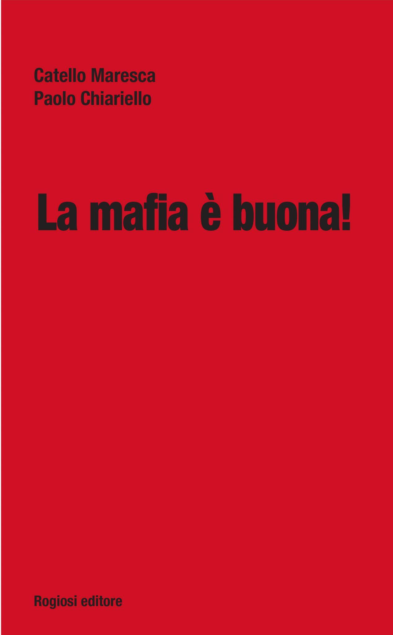 La mafia è buona copertina