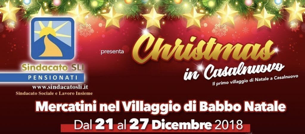 Villaggio Di Babbo Natale Cava Dei Tirreni.Babbo Natale Fa Tappa A Casalnuovo Di Napoli Cronache