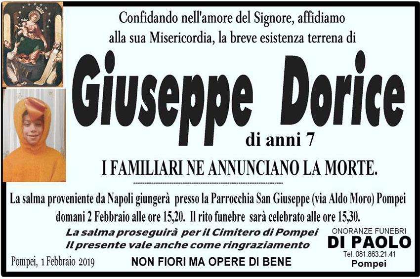 manifesto giuseppe