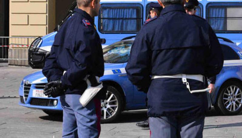 Poliziotti in servizio