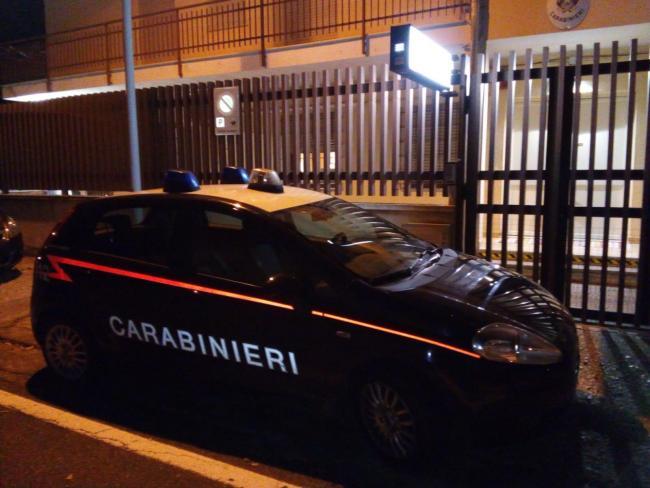 carabinieri notte caserma