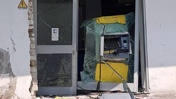 assalto bancomat