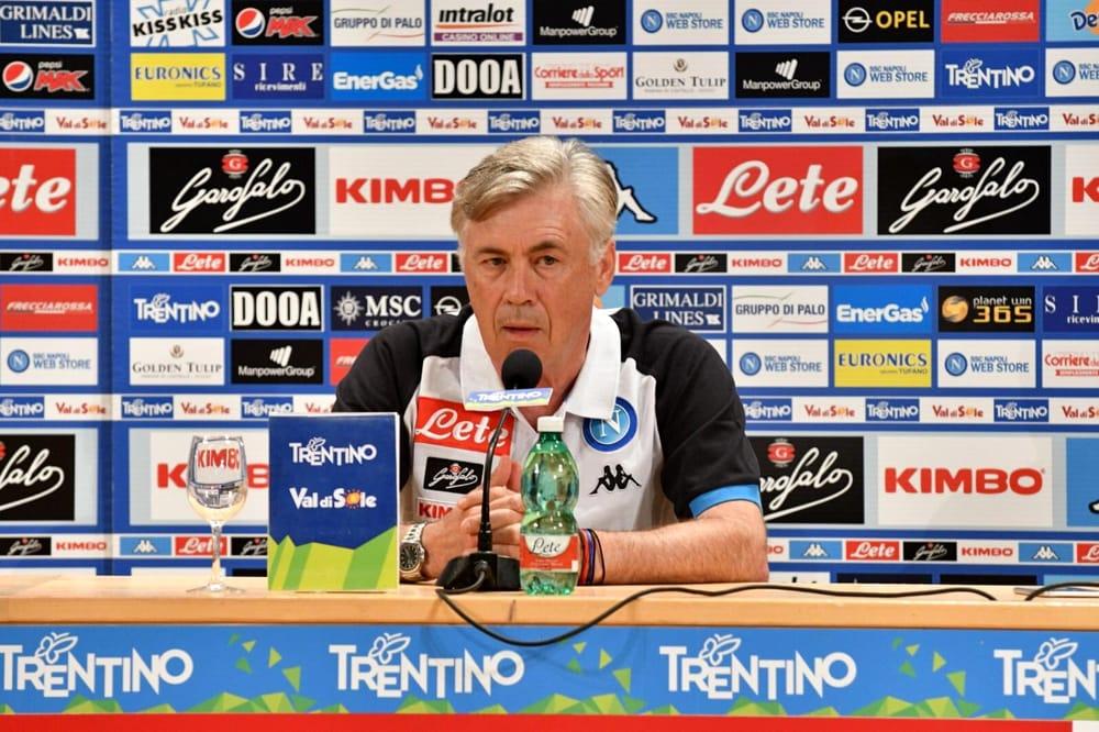 Calciomercato Napoli, Ancelotti: