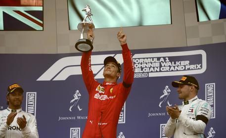 Leclerc trionfa in Belgio, prima vittoria Ferrari