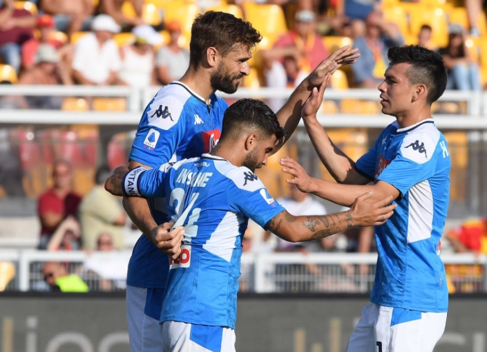 Lecce Napoli 1-4: video, gol e highlights della partita di Serie A