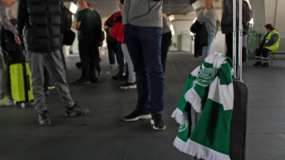 Tifosi Celtic Glasgow 2