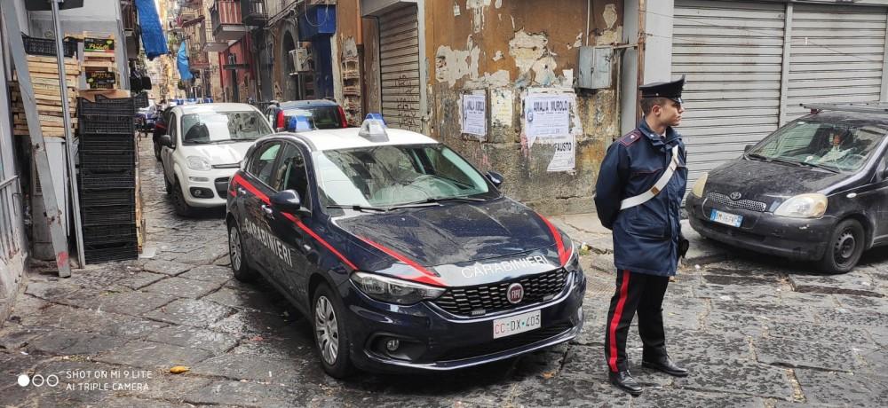 carabinieri controlli napoli