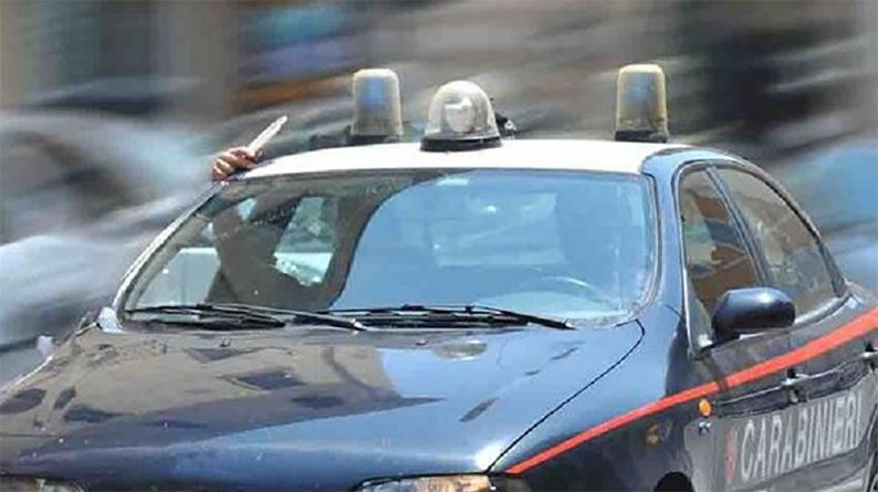 inseguito da brusciano carabinieri