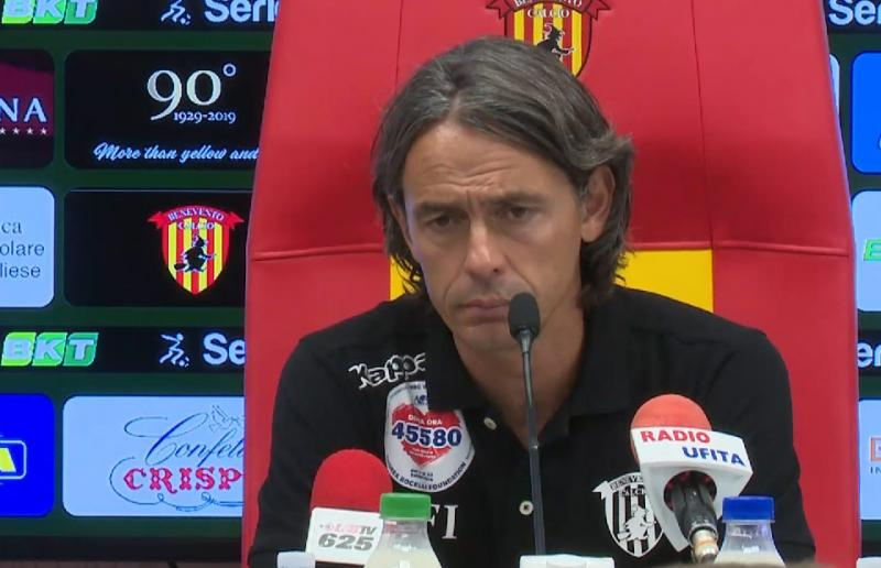 Benevento,Inzaghi
