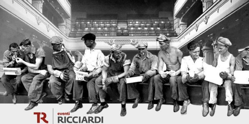 1 maggio, Teatro Ricciardi: 1 maggio vicini ai lavoratori dello spettacolo