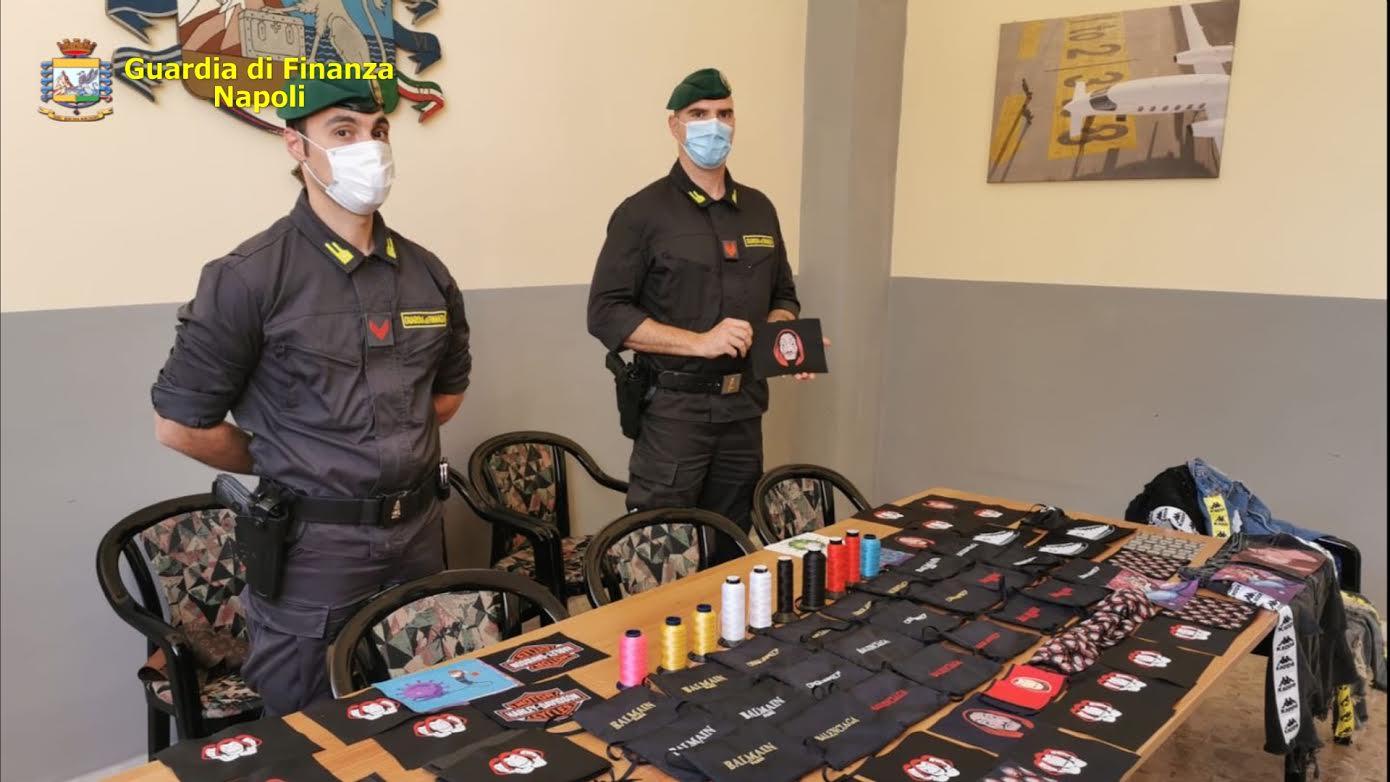 mascherine contraffatte napoli