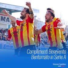 Benevento promosso