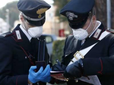 controlli carabinieri covid