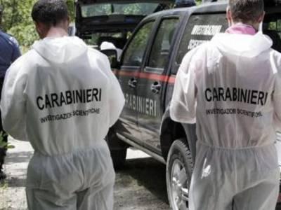 carabinieri omicidio scientifica