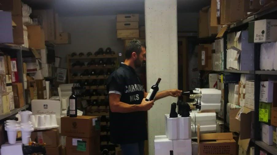contraffazione vino pregiato