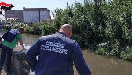 controllo fiume sarno