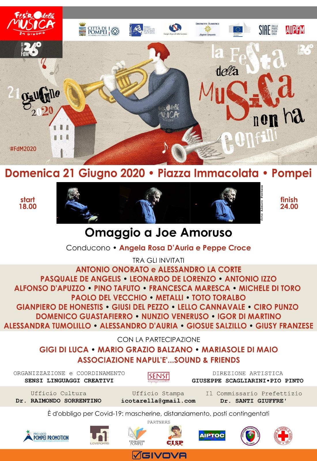 festa della musica pompei