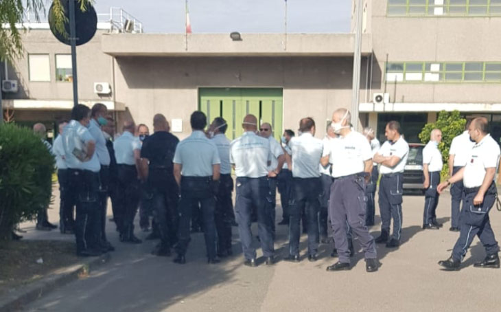 covid,detenuti,agenti penitenziari