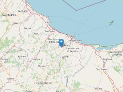 terremoto provincia campobasso