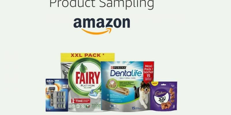 amazon product sampling in Italia