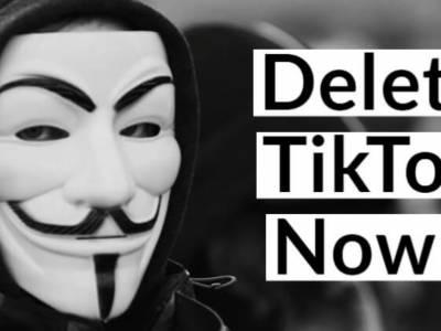 anonymous contro titktok