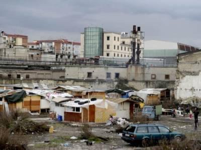 campo rom scampia
