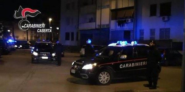 carabinieri caserta