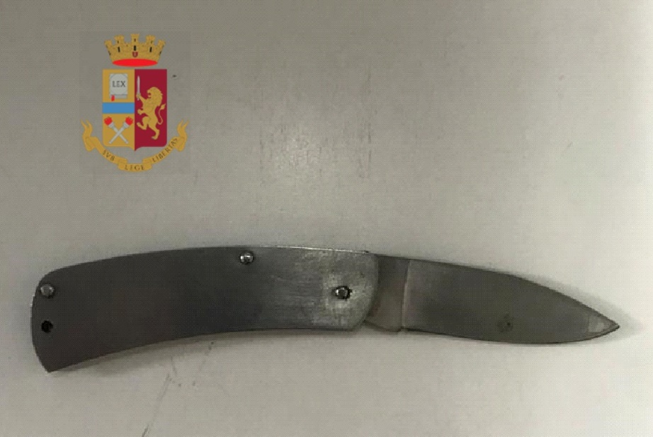 coltello denuncia gianturco