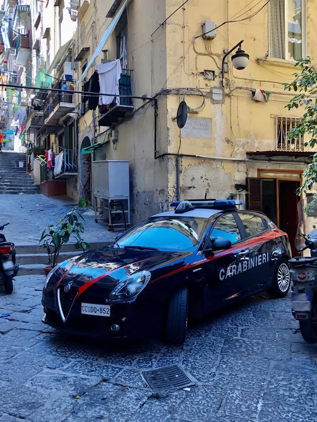 napoli controlli carabinieri