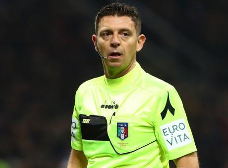 Cambia l'arbitro di Napoli-Roma