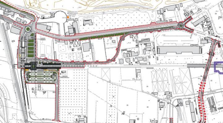 scavi di pompei hub turistico, Scavi di Pompei: il Progetto RFI per via Plinio e la scomparsa dell'HUB Turistico