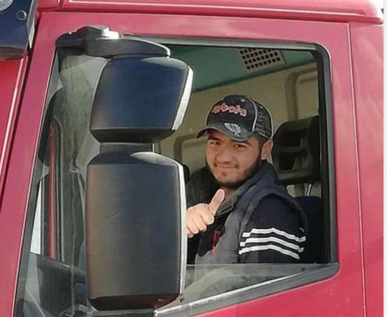 pompei giovane camionista