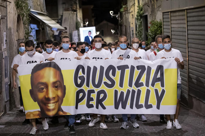 Omicidio Willy, processo immediato per i ragazzi che lo pestarono a morte